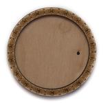 Деревянная заготовка для магнита круглая №4, основное.
