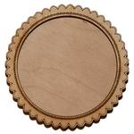 Деревянная заготовка для магнита круглая №2, основное.
