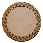 Деревянная заготовка для магнита круглая №3, основное.