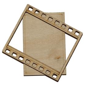 Деревянная заготовка для магнита, фотокадр комплект для сборки