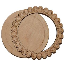 Деревянная заготовка для магнита №1, комплект