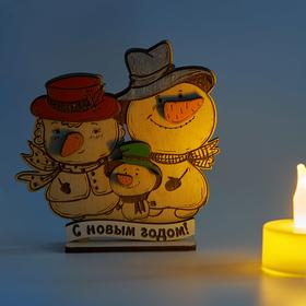 Семейка веселых снеговиков, теплое